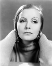 GRETA GARBO SEXY B&W POSTER HAND IN HAIR LOVELY PHOTO OR POSTER