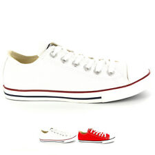 Mens Converse All Star Lean Low Top Chuck Taylor Ox Laced Trainers All Sizes