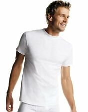Hanes Men's White TAGLESS® Crewneck Undershirt 6-Pack - style 117246