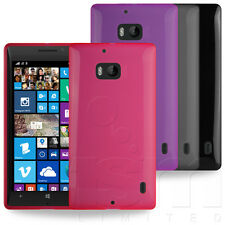 STYLISH SLIM HYDRO RUBBER GEL CASE COVER SKIN FOR NOKIA LUMIA 930 MOBILE PHONE
