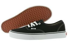 NIB Vans Authentic Era Canvas VN-0EE3BLK Black Fashion Shoes Medium (D, M) Mens