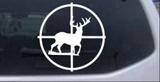 Buck Deer in Scope Hunting Car or Truck Window Laptop Decal Sticker