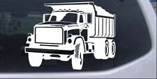 Dump Truck Construction Car or Truck Window Laptop Decal Sticker