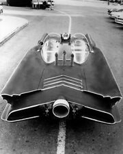 BATMAN STRIKING IMAGE OF THE CLASSIC BATMOBILE PHOTO OR POSTER