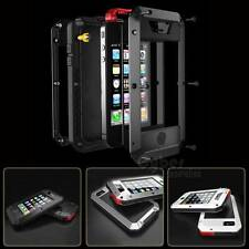 Waterproof Shockproof Aluminum Gorilla Glass Metal Cover Case for Apple iPhone #