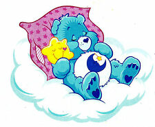 "5.5-9.5"" CARE BEARS BEDTIME BEAR  CHARACTER WALL SAFE STICKER BORDER CUT OUT"
