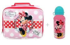 Minnie Mouse Girl Insulated Lunch/Dinner School Bag/Box Cool Hot Food & Drinks