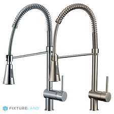 "22"" Pull Down Bar & Kitchen Faucet - Single Hole / Handle"