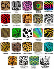 Animal Print Lamp Shades Ideal To Match Duvets, Bedding, Curtains & Cushions