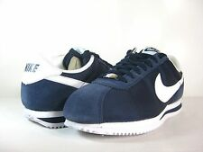 NIKE MENS CORTEZ BASIC NYLON '06 Midnight Navy/White -317249 413- ATHLETIC