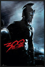 "300: RISE OF AN EMPIRE - FRAMED MOVIE POSTER / PRINT (TEASER 2) (24"" X 36"")"
