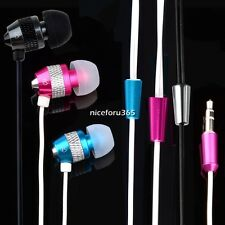 Super Bass Stereo In Ear Headphone Earphones Noise Isolating For iPhone iPod MP3