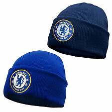 Chelsea FC Official Football Gift Knitted Bronx Beanie Hat (RRP £9.99!)