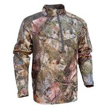 Kings Camo Mens Pro 1/4 Zip Hunting Pullover Mountain Shadow KCM1417 All Sizes