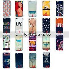Colored Drawing Pattern Animal cartoon Hard Back Case Skin for iPhone Apple 5C