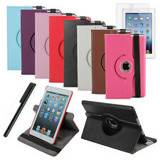 360° Rotating Magnetic Smart Leather Case Cover With Stand For Apple iPad Mini