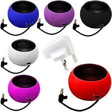 MINI PORTABLE CAPSULE SPEAKER+WHITE PLUG FOR MOBILE PHONES,TABLET,IPAD IPHONE