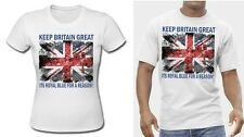 Union-Jack Poppies Keep Britain Great Referendum T Shirt Scotland tshirt