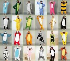 NewUnisex Adult Kigurumi Pajama Cosplay Costum Anime Onesie Dress Sleepwear Robe