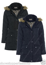GIRLS New Parka JACKET COAT HOODED Girl Padded QUILTED AGE 7 8 9 10 11 12 13