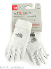 The North Face Women's E-tip touch screen compatiable Glove White AVDA Authentic