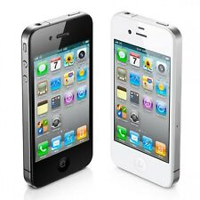 Apple iPhone 4 8GB WiFi Verizon Wireless Black and White Smartphone