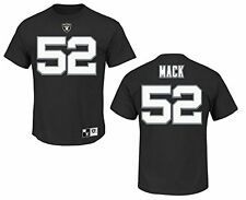 Oakland Raiders Khalil Mack Eligible Receiver II Name and Number T-Shirt
