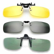 Practical Day Night Vision Clip-on Objektiv Sonnenbrille Drechsler fahren Brille