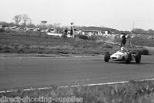 Black & White Photo 1960's Single Seater Race Car Racing in the UK