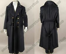 Doctor/Dr.Who Torchwood Captain Jack Harkness Cosplay Costume Wool Trench Coat