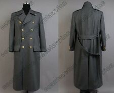 Torchwood Doctor/Dr.Who Captain Jack Harkness Cosplay Costume Wool Trench Coat