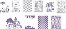 COUTURE CREATIONS A2 EMBOSSING FOLDERS / MARRIOT COLLECTION