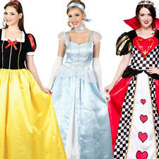 Fairytale Princess Ladies Book Week Costume Halloween Character Fancy Dress 6-24