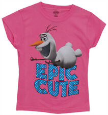 Frozen Olaf Epic Cute Disney Animated Movie Juvenile T-Shirt Tee