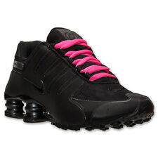Nike Shox NZ Black Anthracite Pink Reflect  # 635791 020 Women Running Shoes sz