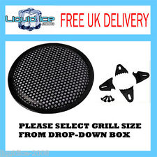 """8"""" 8 INCH 10"""" 10 INCH 12"""" 12 INCH AUTOLEADS SUBWOOFER SPEAKER GRILLE"""