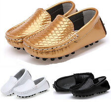 Boy's Girl's Genuine Leather Casual Shoes Breathable Shoes Sneakers Flats Shoes