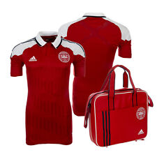 Denmark Adidas Player Techfit Jersey With Bag Player Jersey Player Issue New