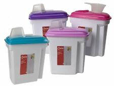 7.5L Large Plastic Container Cereal Washing Powder Pet Food Big Storage Box
