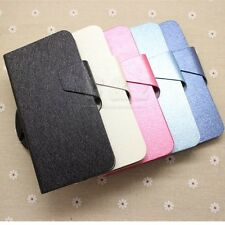 5Colors Flip Folio Leather Case Cover For Alcatel One Touch Idol Alpha 6032X a