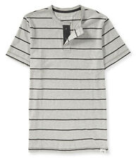 aeropostale mens thin stripe henley shirt