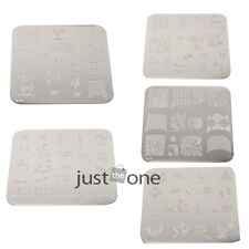 Chic Women Girls Nail Art Image Stamp Stamping Plates Manicure Template Decor