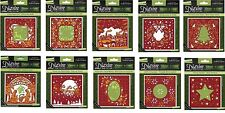 CRAFTER'S COMPANION DIE'SIRE CHRISTMAS COLLECTION CREATE-A-CARD DIES
