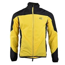 2014 R0CKBROS Tour de France Cycling Wind Coat Yellow Black New