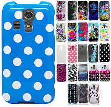 Kyocera Hydro Life C6530 Hard Protector Case Snap On Phone Cover + Screen Guard