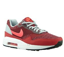 Neuf Nike Air Max 1 Jacquard 644153 600 Prime Chaussures De Sport Style Baskets