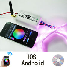 Android IOS Phone Music Sensor WiFi Controller Remote For RGB Led Strip Lights