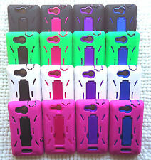 LG LUCID 4G VS840 / LG Optimus Exceed VS840PP Phone Cover ARMOR Case