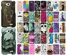 LG Realm LS620 Rubberized HARD Protector Case Snap on Phone Cover Accessory
