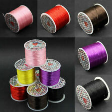 1 Roll 1mm Strong Elastic Stretchy Beading Thread Cords For Jewelry,10 Meter